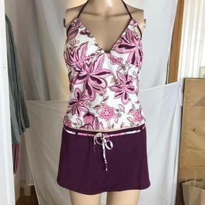 Daisy Fuentes 2 Piece Bathing Suit Size 10 & 14